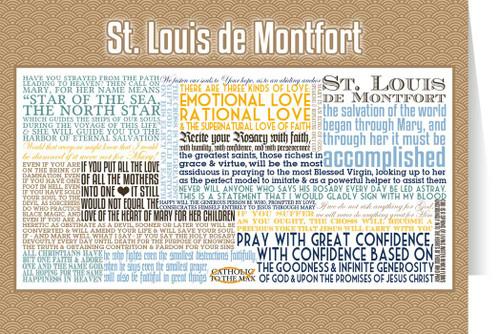 Saint Louis de Montfort Quote Card