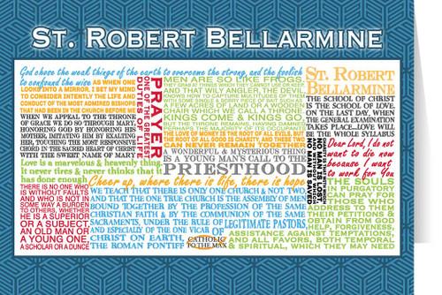 Saint Robert Bellarmine Quote Card