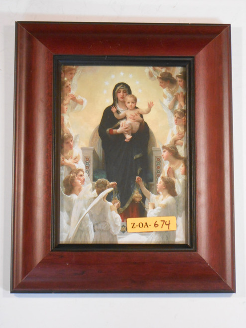 Queen of Angels 5x7 Thick Framed Print