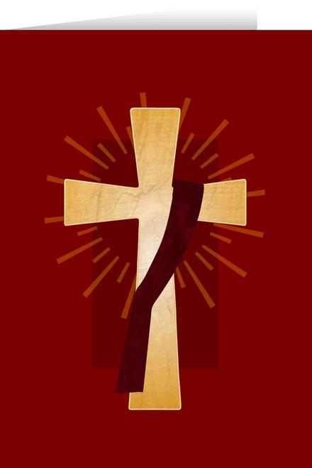 Deacon's Cross Diaconate Ordination Greeting Card