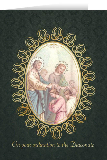 Apostles' Diaconate Ordination Greeting Card