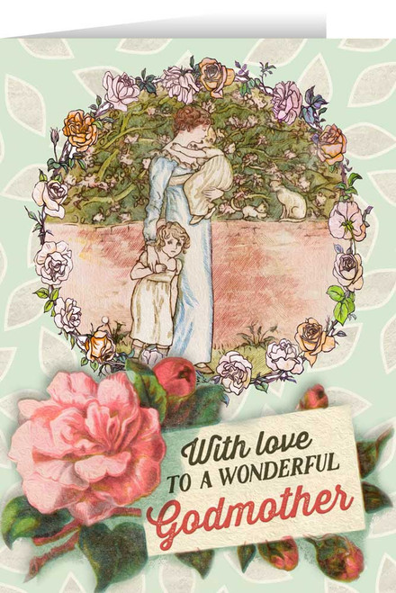 Springtime Godmother Greeting Card