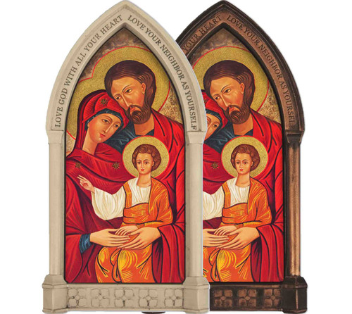 Holy Family Icon Home Doorpost Blessing