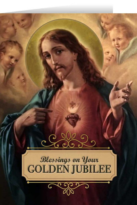 Sacred Heart Golden Jubilee Greeting Card
