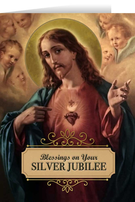 Sacred Heart Silver Jubilee Greeting Card