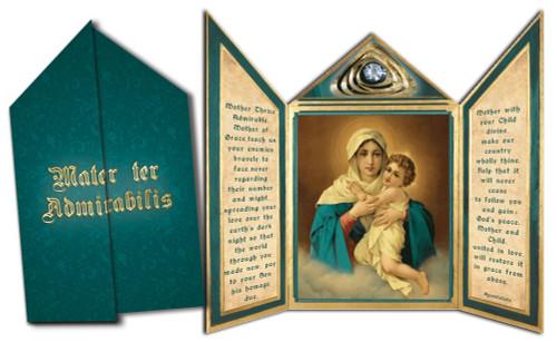 Schoenstatt Madonna Tri-fold Triptych Cards (Set of 12)