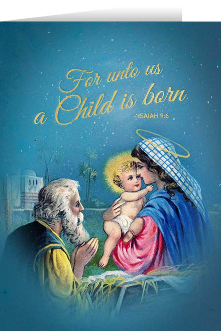 Vintage Holy Family Christmas Cards (box of 25)