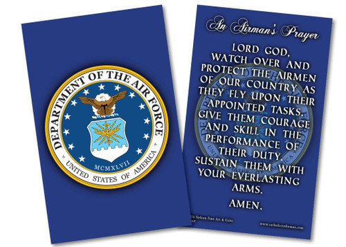 Air Force Prayer Card