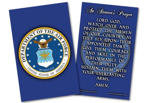 Air Force Prayer Card