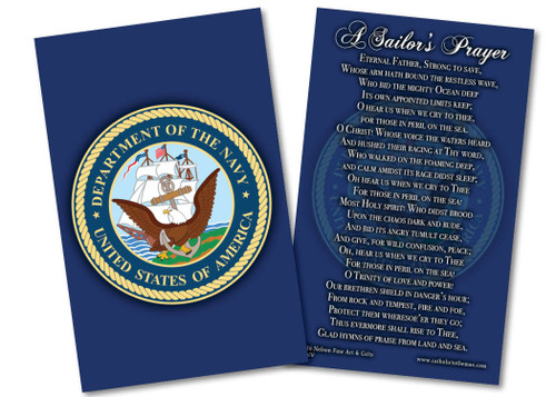 Navy Prayer Card