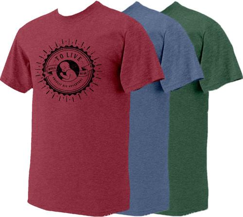 Big Adventure Heather Pro-Life T-Shirt