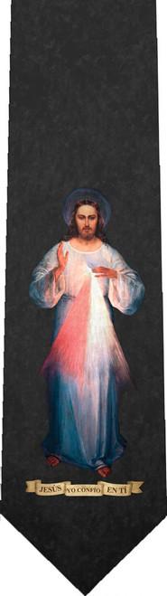 Spanish Vilnius Divine Mercy Tie