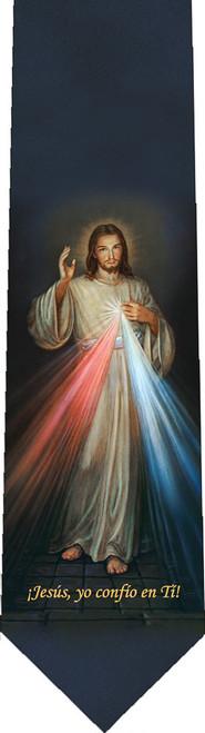 Spanish Divine Mercy Tie