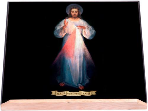 Spanish Vilnius Divine Mercy Bible Stand