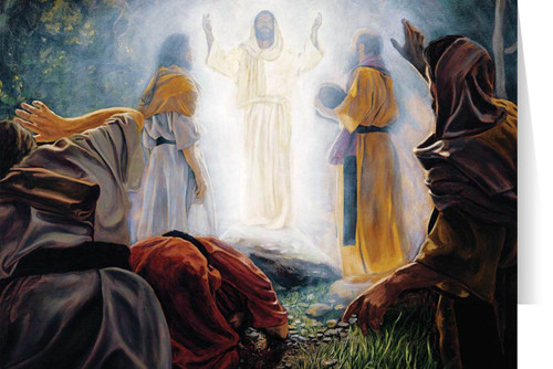 Transfiguration (Jenicke) Greeting Card