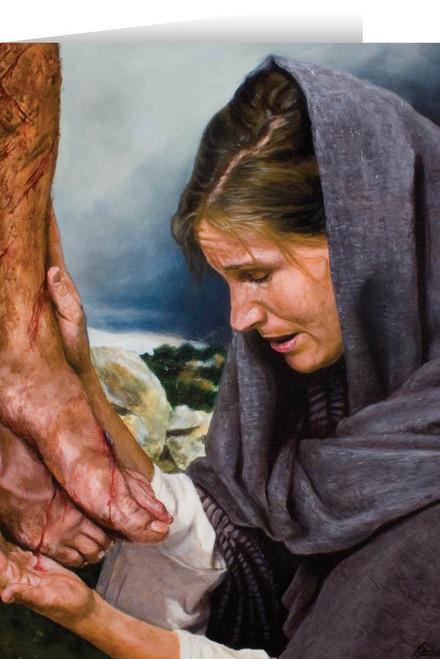 Mary's Sorrow (Jenicke) Greeting Card