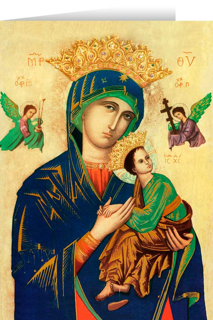Mother of Perpetual Help Greeting Card