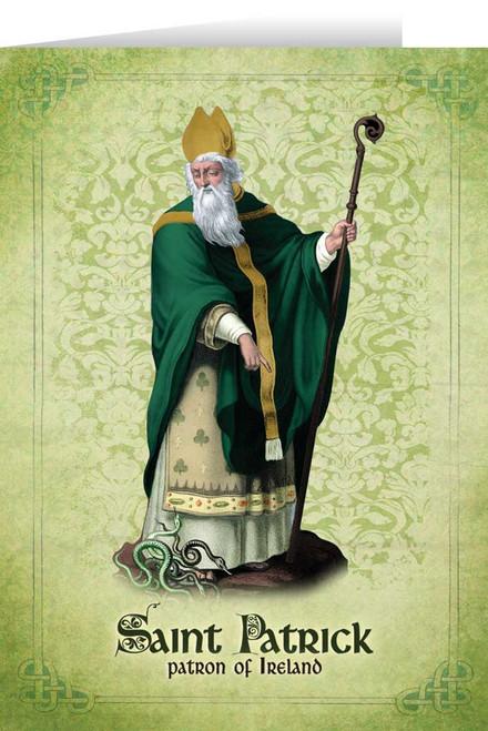 St. Patrick Greeting Card