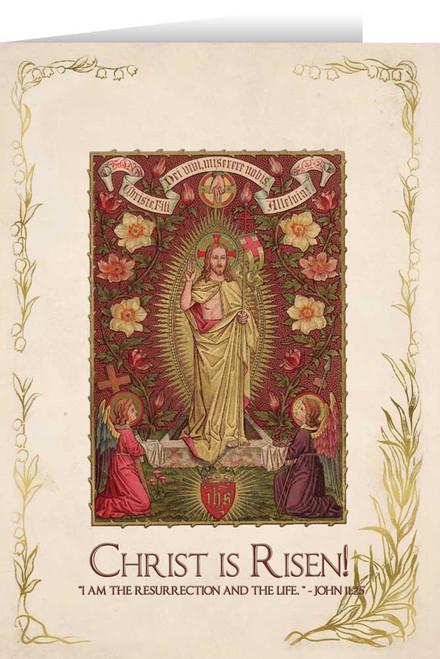Christ is Risen Easter Season Greeting Card