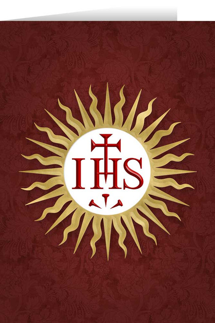 Jesuit IHS Greeting Card