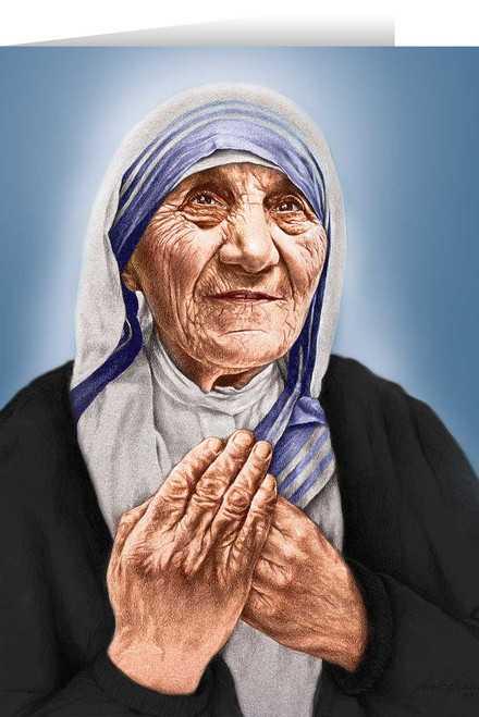 St. Teresa of Calcutta Greeting Card