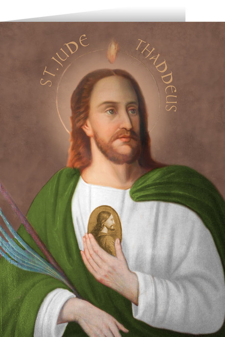 Saint Jude Greeting Card