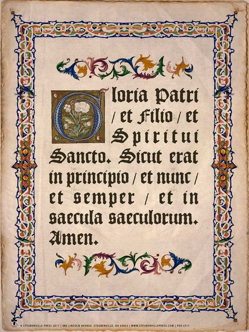 Latin Glory Be Poster