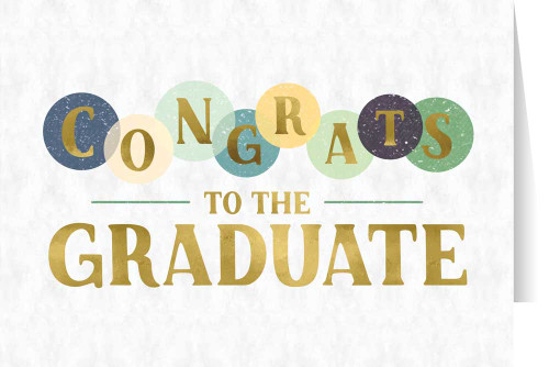 Congrats Graduation Greeting Card