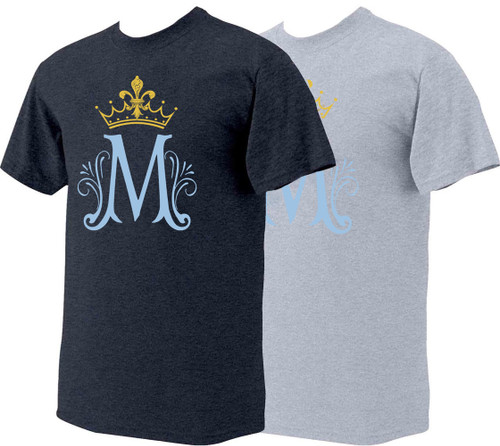 Marian Symbol Heather T-Shirt