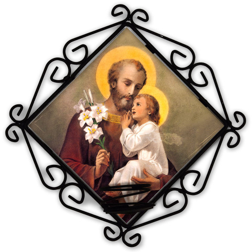 St. Joseph (Younger) Votive Candle Holder