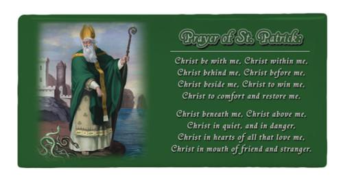 St. Patrick Prayer Hi-Gloss Mini Tile