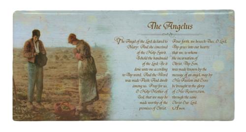 The Angelus by Millet Prayer Hi-Gloss Mini Tile