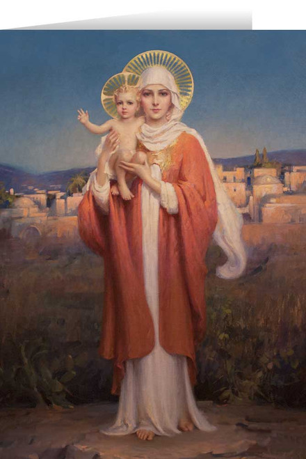 Our Lady of Palestine by Chambers Christmas Cards  (25 Cards)