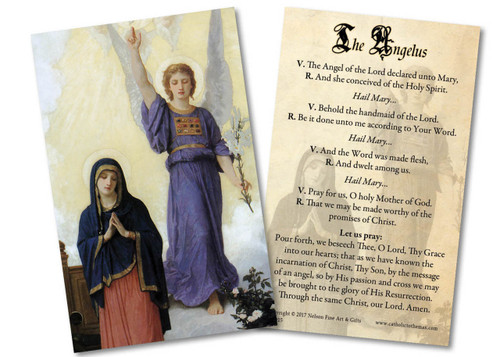 L'Annunciation Holy Card