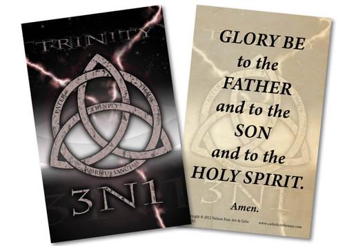 Trinity 3N1 Glory Be Holy Card