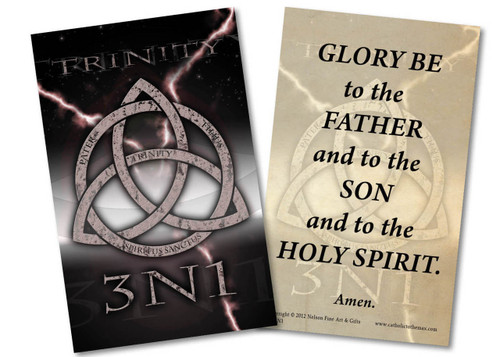 Trinity 3N1 Glory Be Holy Card