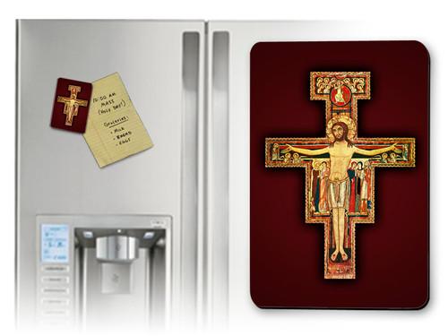 San Damiano Crucifix Magnet