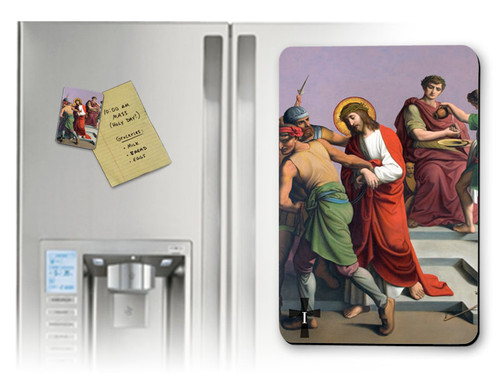 St. Peter's Stations of the Cross (Full Set of 14 Pieces) Magnets