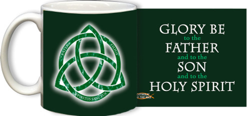 Trinity with Glory Be Mug