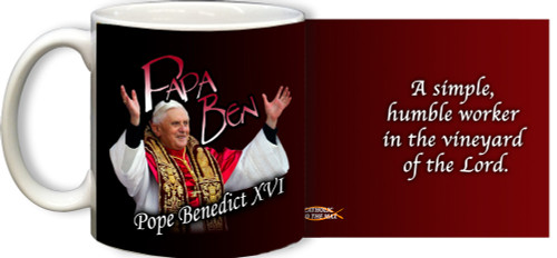 Papa Ben with Quote Mug