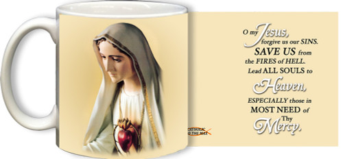 Our Lady of Fatima Mug