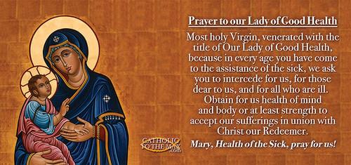Our Lady of Good Health Mug