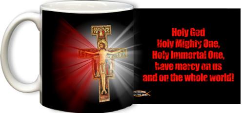 San Damiano Divine Mercy Mug