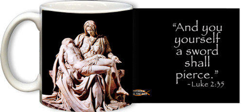 Pieta by Michaelangelo Mug