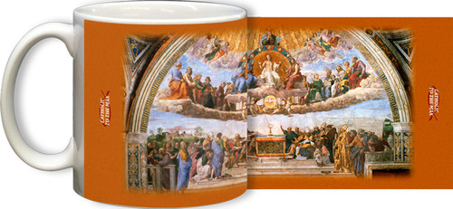 Disputation of the Eucharist Mug