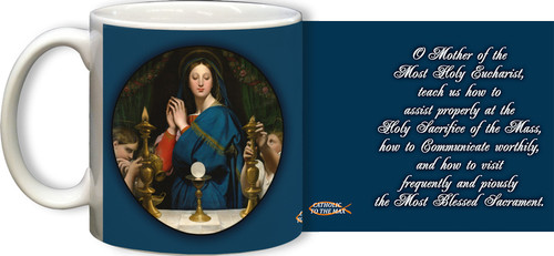 Madonna of the Host Mug