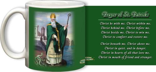 St. Patrick with Prayer Mug
