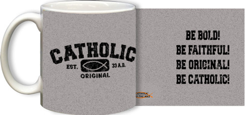 Catholic Original Gray Mug