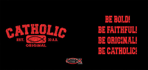 Catholic Original Red/Black Mug