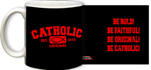 Catholic Original Red/Black Mug